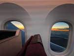 Sunset from the Dreamliner