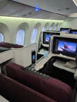 JAL 787-Dreamliner business class cabin