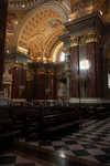 Down the transept
