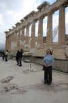 Teri Ann at the Parthenon