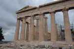 Entrance to the Parthenon, columns partially restored