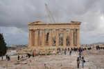 Parthenon at top of the Acropolis