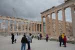 Parthenon and rear of the Erechtheion