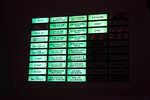 Launch control status board (Apollo era)
