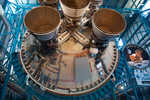 Business end of a Saturn V rocket