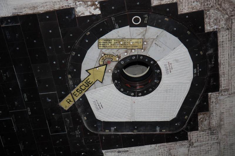 Atlantis emergency escape hatch