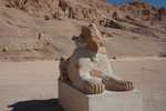 Hatshepsut as Sphinx, lower court.