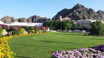 Al Alam Palace grounds, Muscat.