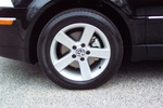 The alloy wheels (new design for 2004)