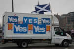 The Yes contingent were the vocal minority.