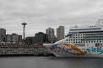 NCL ship ready for Alaska!