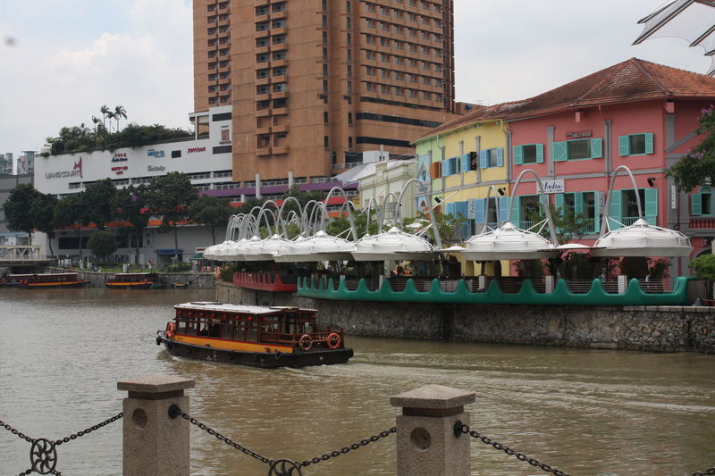 Bumboat, at Clarke Quay