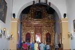 Altar of La Popa Monastery