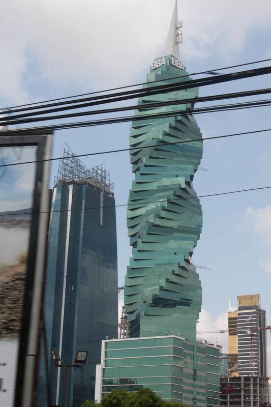 Panama City has modern architecture