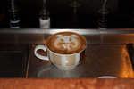 Latte art onboard