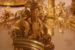 Dragons on a candelabra base