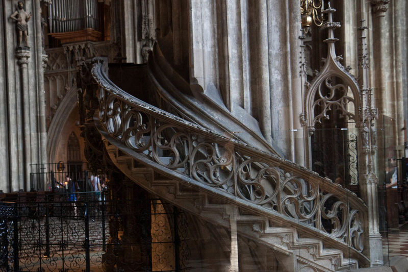 Stone Lectern staircase