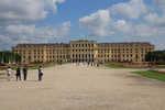 Schönbrunn Palace, from rear