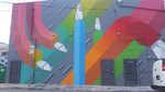 Artist: Begoña Toledo (Boxhead), street art.