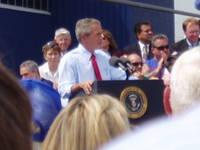 Highlight for album: President Bush visits Boeing