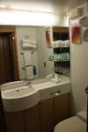 Aqua Class bathroom